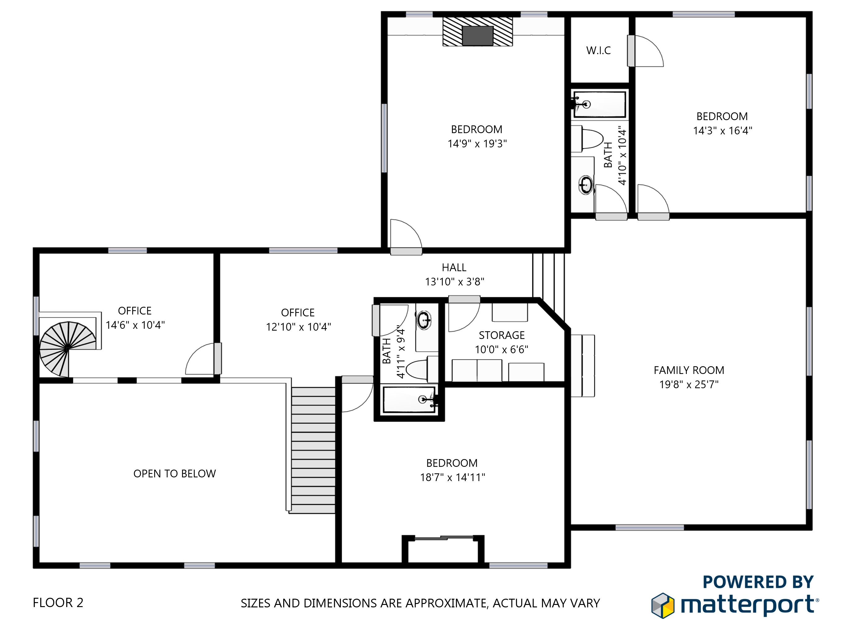 Floorplans dfw virtual tours for Floor plan virtual tour