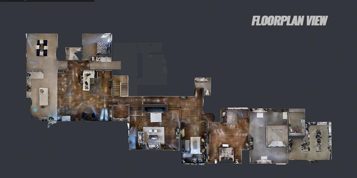 DFW Virtual Tours Floorplan